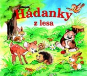 Kniha pro děti Hádanky z lesa Junior
