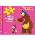 Kniha pro děti Máša a medvěd malířka Máša puzzle
