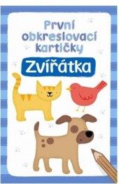 Kniha První obkreslovací kartičky - Zvířátka