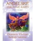 Kniha s kartami Andělské tarotové karty Doreen Virtue