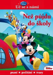 Kniha Uč se s námi – Než půjdu do školy Disney