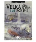Kniha Velka válka na moři 1. díl Jaroslav Hrbek