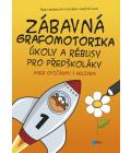Kniha Zábavná grafomotorika, úkoly a rébusy pro předškoláky Martin Vlach