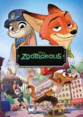 Kniha Zootropolis Město zvířat