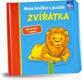 Kniha Zvířátka s puzzle