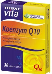 Doplněk stravy Koenzym Q10 MaxiVita