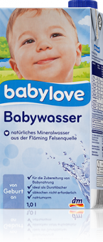 Kojenecká voda Babylove