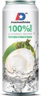 Kokosová voda 100% American Drinks