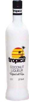 Likér kokosový s rumem Tropica