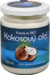 Kokosový olej Premium Bio