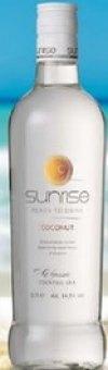 Nápoj míchaný Coconut Sunrise