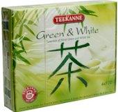 Kolekce  čajů Green & White Teekanne