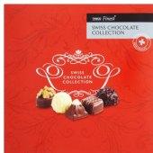 Kolekce švýcarské čokolády Tesco Finest