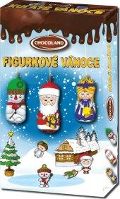 Kolekce vánoční figurková Chocoland