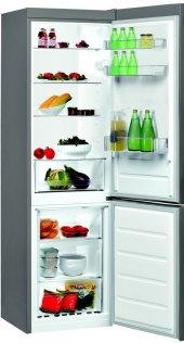 Kombinovaná chladnička Indesit LI8 S2 X