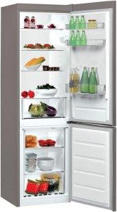 Kombinovaná chladnička LI8 S1 X Indesit