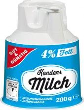 Mléko kondenzované 4% Gut&Günstig  Edeka