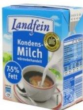 Mléko kondenzované neslazené 4% Landfein