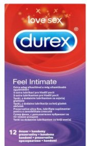 Kondomy Feel intimate Durex