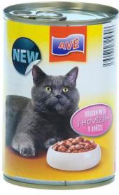 Konzerva pro kočky AVE