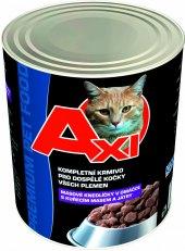 Konzerva pro kočky Axi