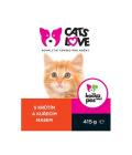 Konzerva pro kočky Cat's love
