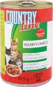 Konzerva pro kočky Country Line