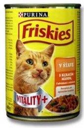 Konzerva pro kočky Friskies