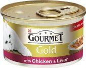 Konzerva pro kočky Gold Gourmet Purina