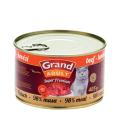 Konzerva pro kočky Grand