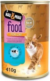Konzerva pro kočky Hau&Miau