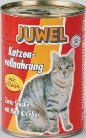 Konzerva pro kočky Juwel