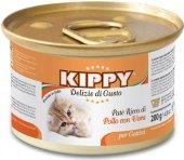 Konzerva pro kočky Kippy