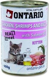 Konzerva pro kočky Kitten Ontario