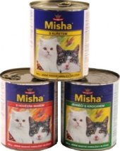 Konzerva pro kočky Misha