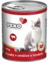 Konzerva pro kočky Peko