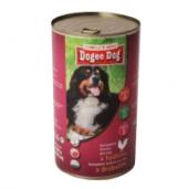 Konzerva pro psy Dogee Dog