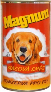 Konzerva pro psy Magnum