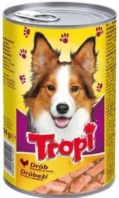 Konzerva pro psy Tropi
