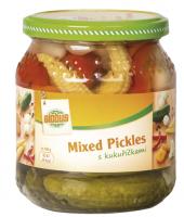 Konzervovaná zelenina Mixed Pickles Globus