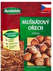 Koření Muškátový ořech mletý Avokádo