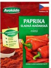 Koření Paprika sladká maďarská mletá Avokádo