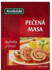 Koření Pečená masa Avokádo