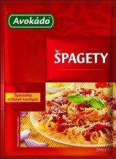 Koření Špagety Avokádo