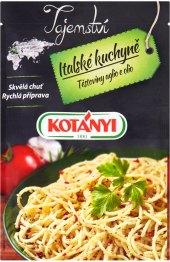 Koření Těstoviny aglio olio Tajemství italské kuchyně Kotányi