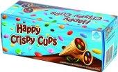 Kornout plněný čoko dražé Happy Crispy Cups Eichetti