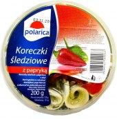 Korunky sleďové v oleji s paprikou Polarica