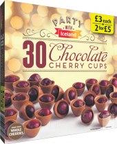 Košíčky čokoládové mražené Iceland