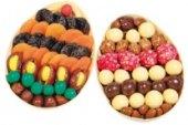 Směs sušené ovoce a cukrovinky Deneb - košík