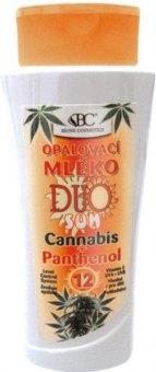 Kosmetika na opalování Cannabis